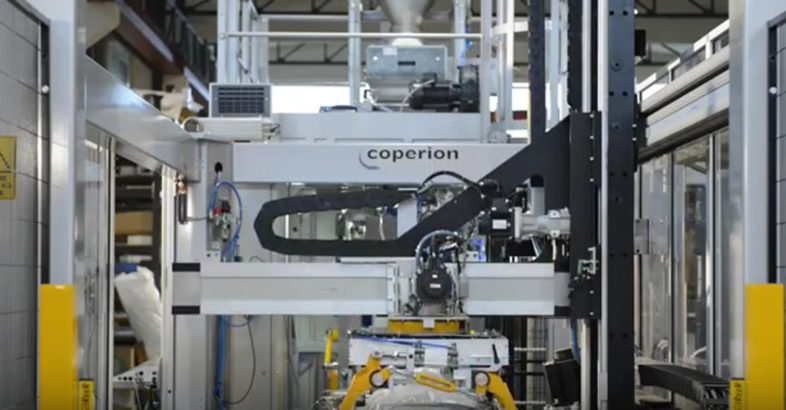Coperion – Bagging & Palletizing System
