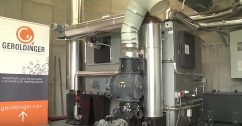 Geroldinger Biomass Storage, Conveying and Dosing System