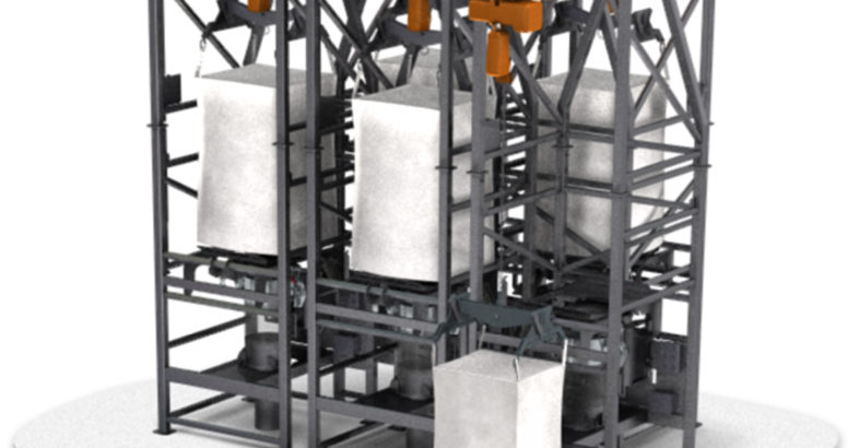 NBE National Bulk Equipment – Bulk Bag Unloaders Safely and Accurately Discharge Ingredients