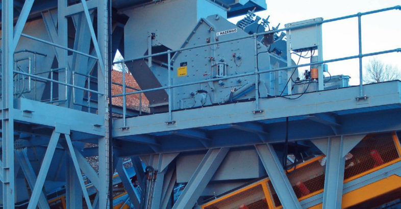 HAZEMAG: Secondary Impact Crusher HSI