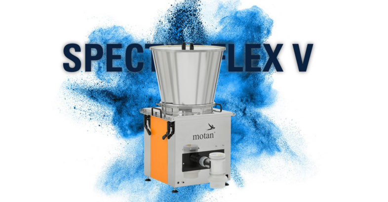 motan-colortronic: SPECTROFLEX V – The new volumetric dosing unit with flexible exchange system