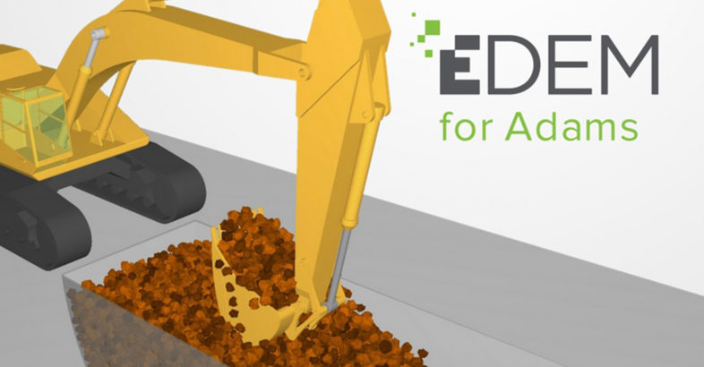 EDEM brings bulk material simulation to users of Adams multi-body dynamics