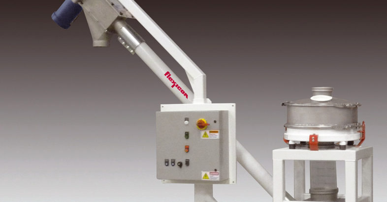 Flexicon: Mobile Screener-Conveyor Handles Non-Free-Flowing Materials