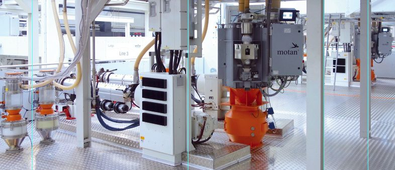 motan – colortronic: Conveying and Dosing Technology at Greiner Packaging GmbH