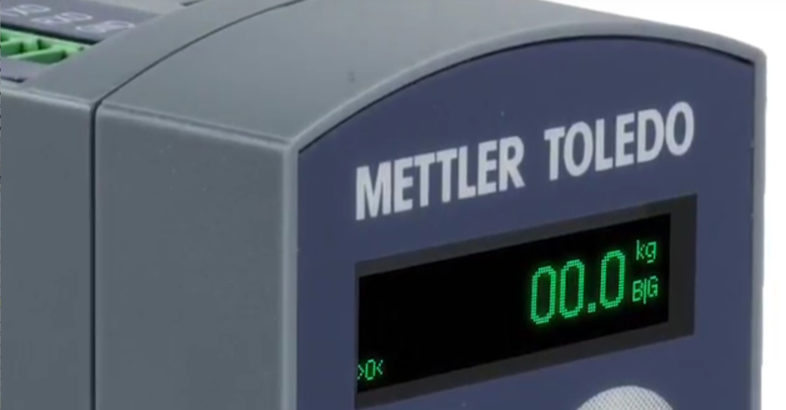 Mettler Toledo: It takes less than 3 minutes to integrate an ACT350 weight transmitter