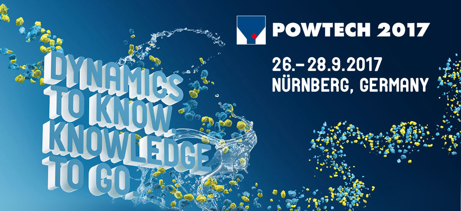 20th POWTECH in Nuremberg – celebrate with us