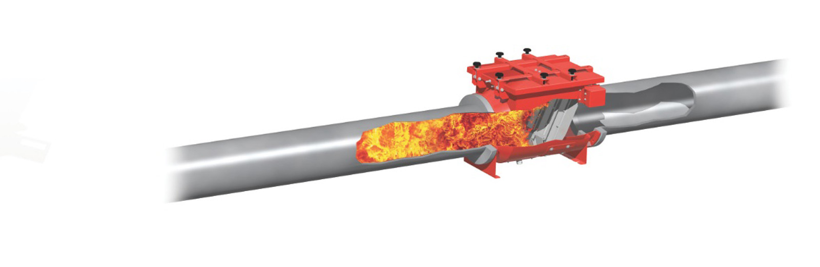 Integrated explosion protection from IEP Technologies: 75 milliseconds to save lives
