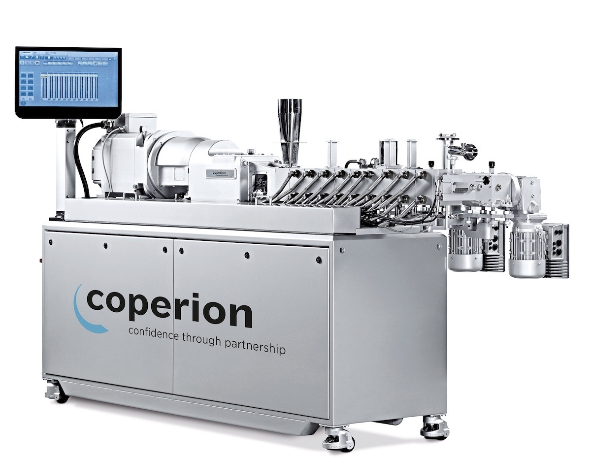 ZSK Mc18 twin screw extruders from Coperion are ideal for the production of top-quality masterbatches.