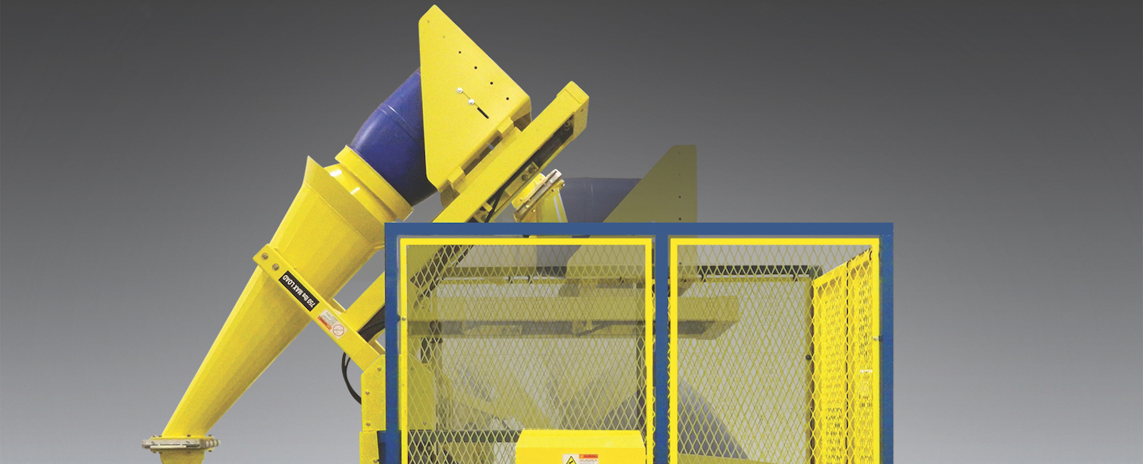 Flexicon: Drum Tipper mates with low-height Receiving Vessels