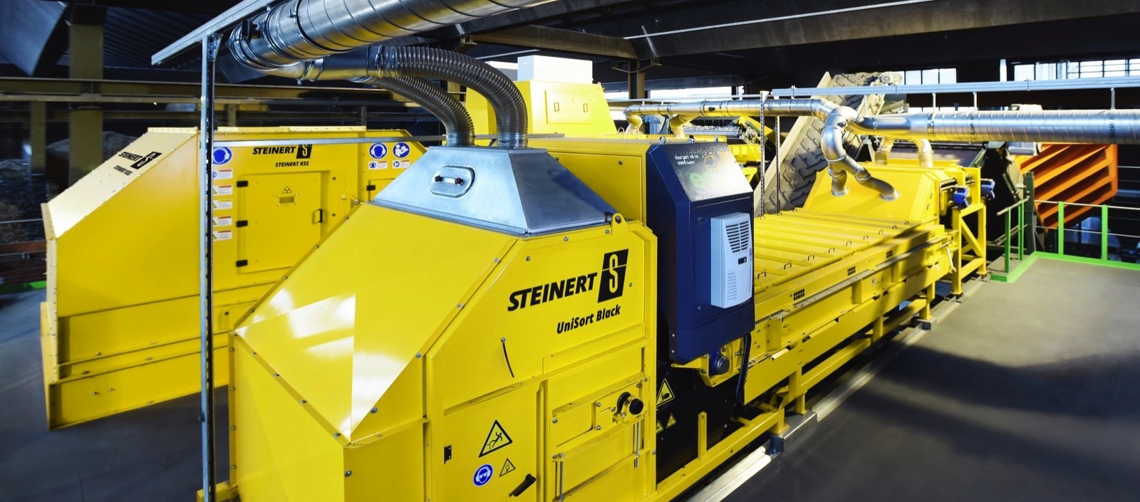 Steinert: A flexible Combination Sorting Solution for Electronic Waste