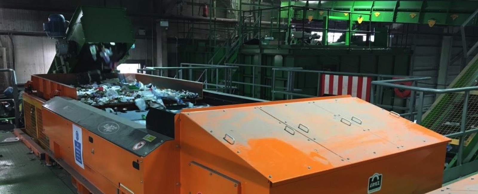 Eriez Europe: Two additional magnetic Separators for Re-Gen Waste, UK