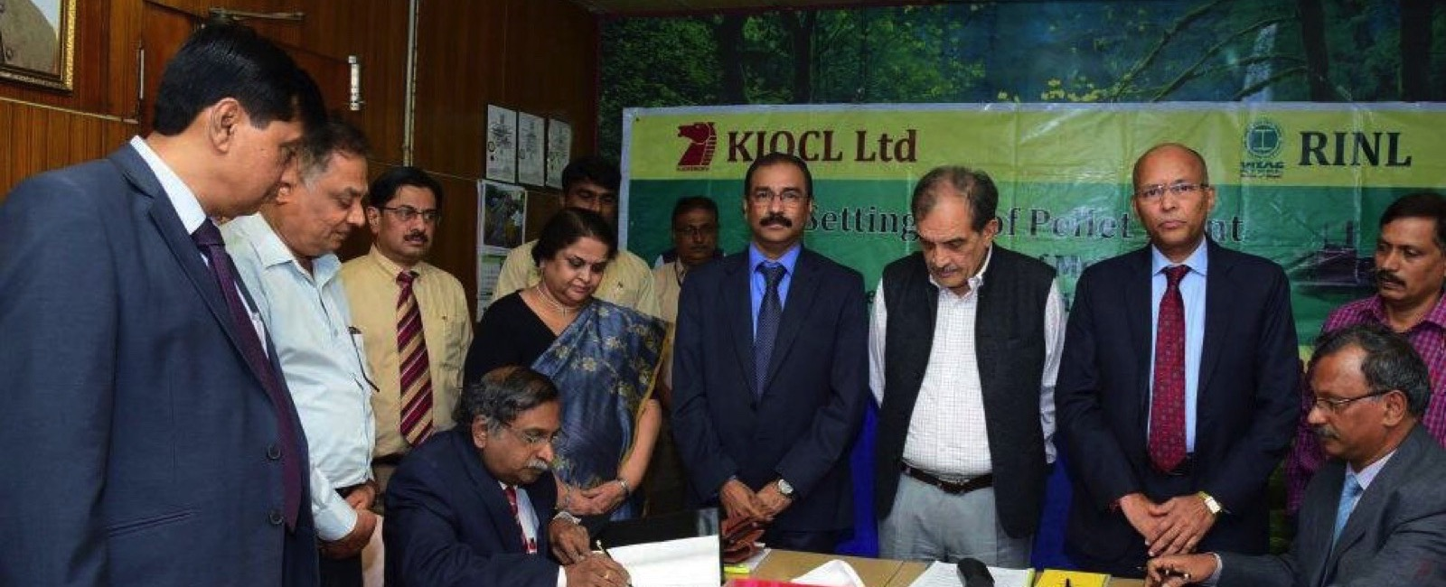 RINL and KIOCL sign MOU for Iron Ore Pellet Plant Joint Venture