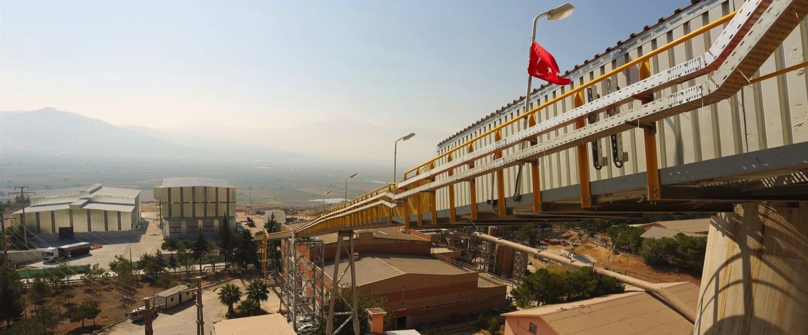 Cement Manufacturer relies on BEUMER Pipe Conveyors for clean, safe and fast Fuel Feed