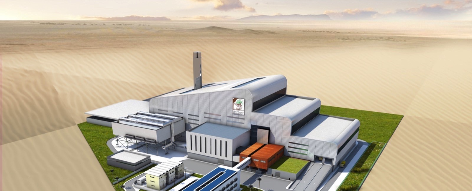 Hitachi Zosen Inova to build the World's largest Energy from Waste Plant in Dubai