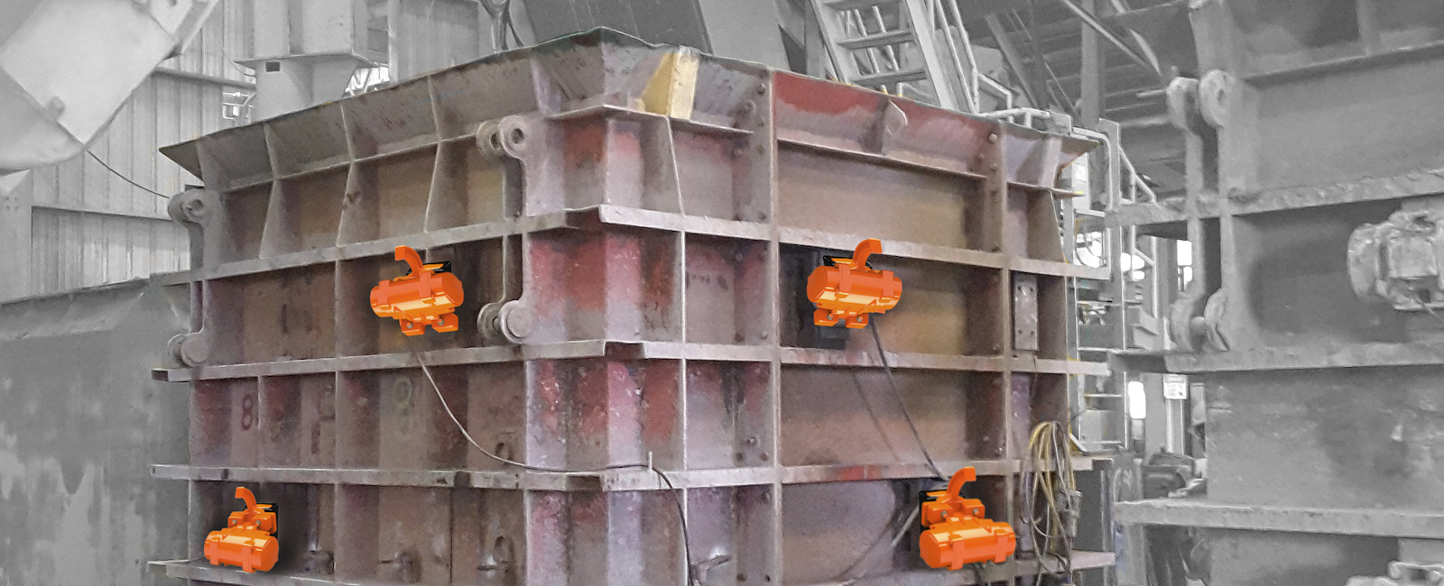 Martin Engineering: Lightweight Vibrators for Precast Concrete deliver high Performance and extended Life