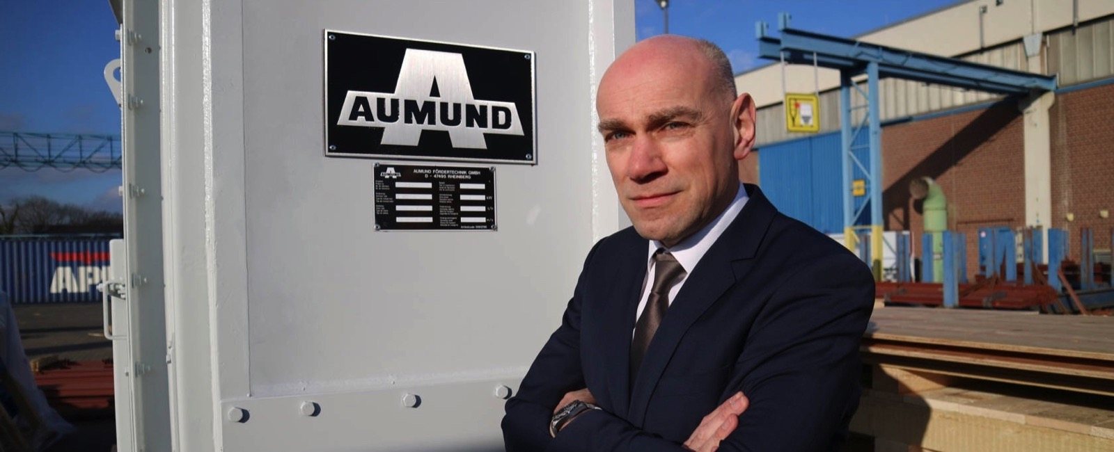 Reiner Furthmann Managing Director Technology at AUMUND Fördertechnik