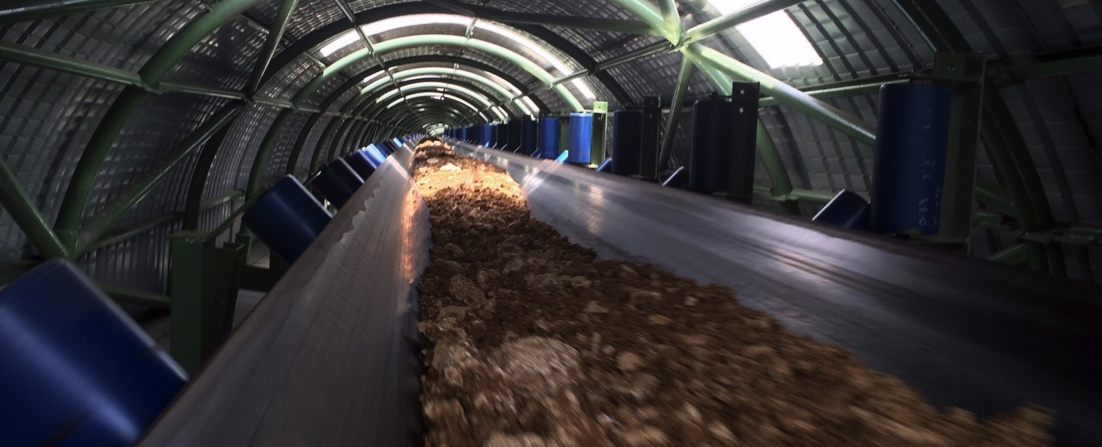 BEUMER Group: 26 km long Overland Conveyor at Yadong Cement in China