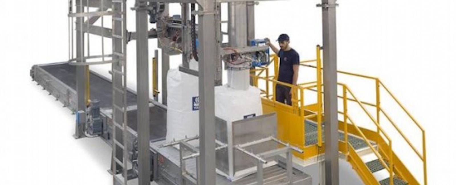 Concetti: Automatic Bulk Bag Filling and Closing of Single Loop Bulk Bags