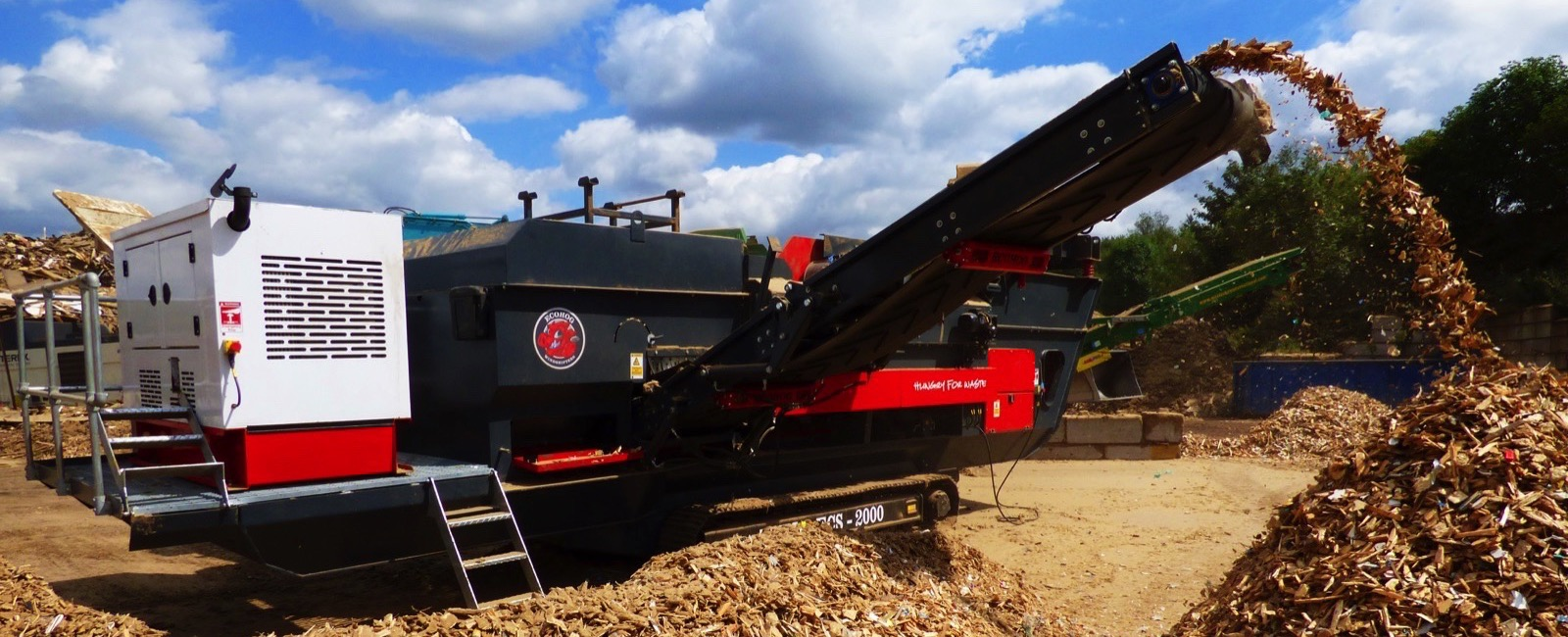 Eriez Europe and Ecohog unite to provide a more transportable Metal Separation Solution