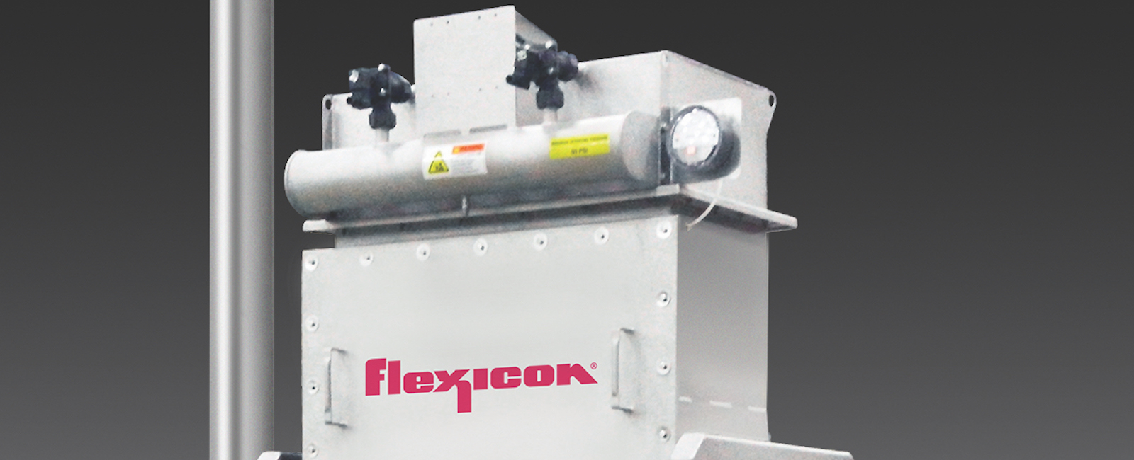 Flexicon: Stand-Alone Dust Collector removes Airborne Dust from Upstream Processes