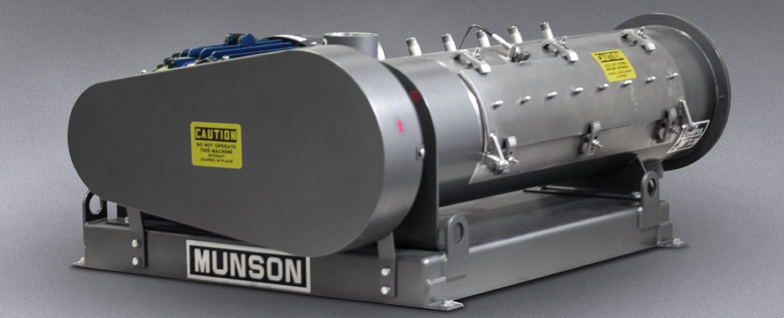 Munson Machinery: Variable Intensity Continuous Blender for Pastes, Slurries