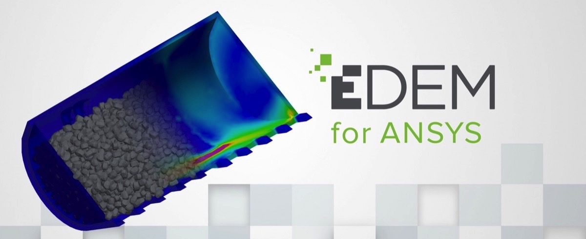 'EDEM for ANSYS' first Granular Material Simulation Technology on ANSYS App Store