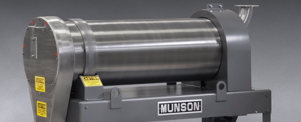 Munson Machinery: Rotary continuous Mixer for high-volume, low-cost Applications