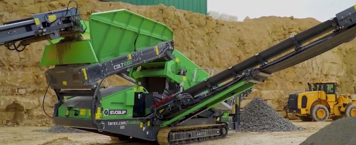 Terex EvoQuip launch new Colt 1000 Scalping Screen at Hillhead 2018