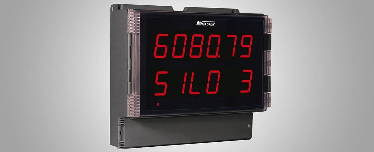 BinMaster: Modbus large digital Display goes the Distance