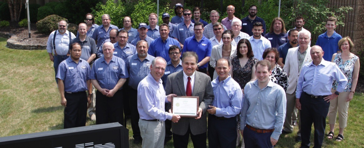 Size Reduction Specialist Franklin Miller Inc. honored for 100th Anniversary
