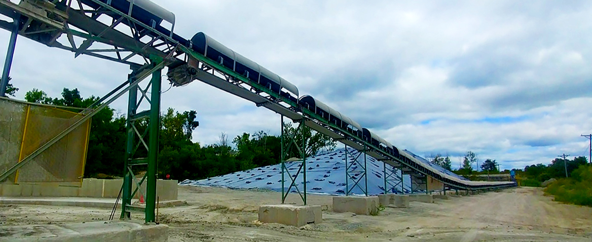 Martin Engineering: Cement Plant overcomes remote Conveyor Issueswith unique Power Generation Technology