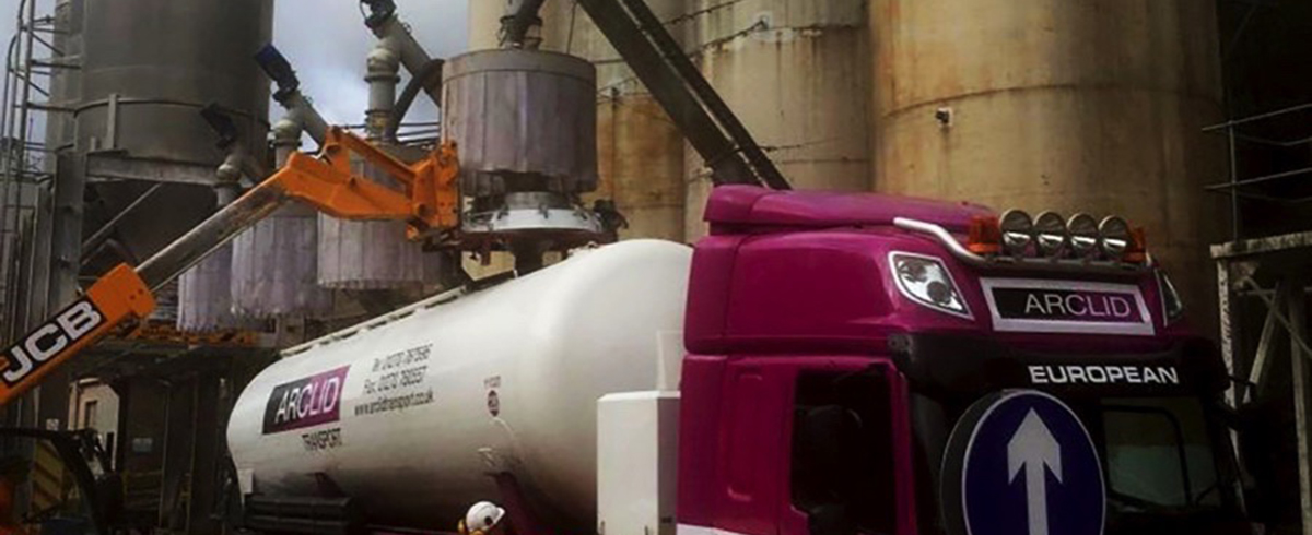 Russell Finex: Compact Sieve used for Screening of Marble Powder during Tanker Loading