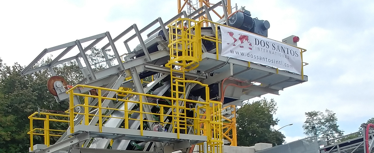 Dos Santos International starts up additional Sandwich Conveyor for Paris Tunneling Project