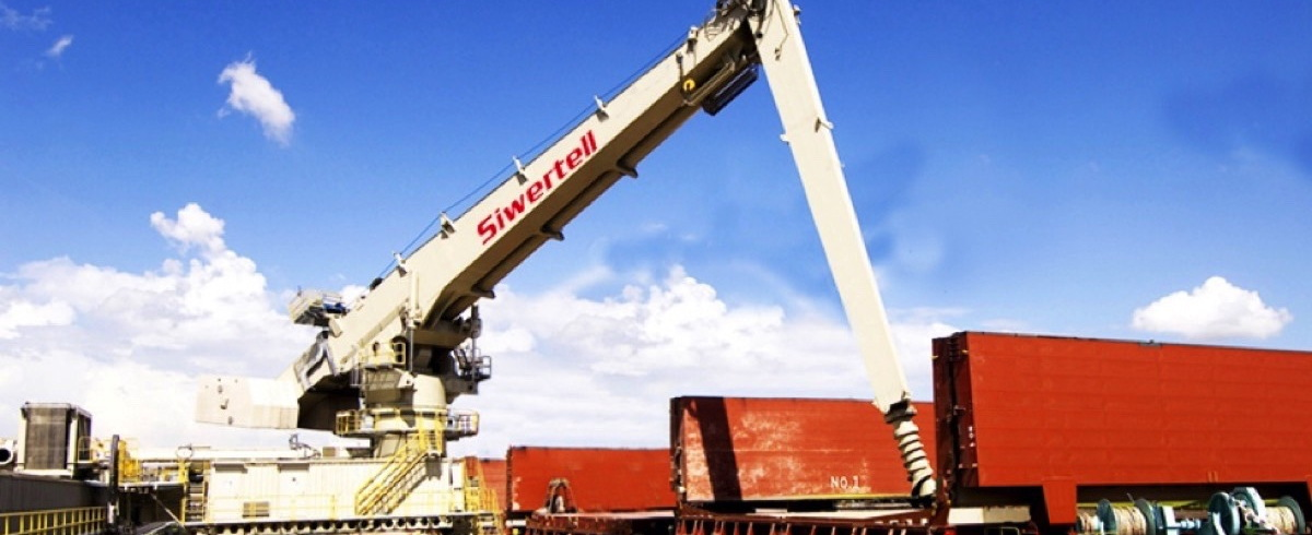 Siwertell Ship Unloader chosen for South Texas Cement's Corpus Christi Terminal