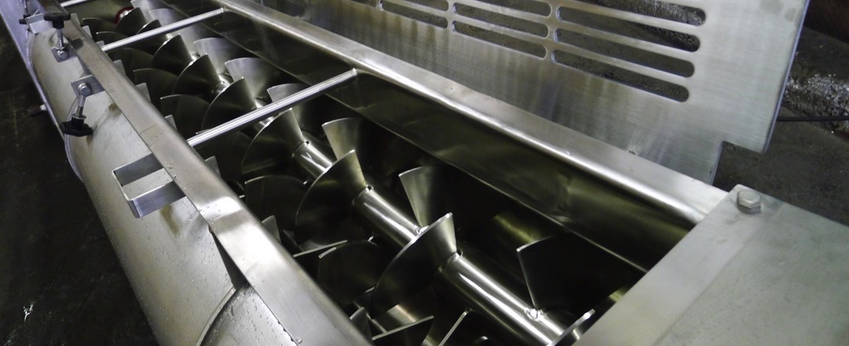 Ajax Equipment: Mixers for Frozen Potato Production at Agristo