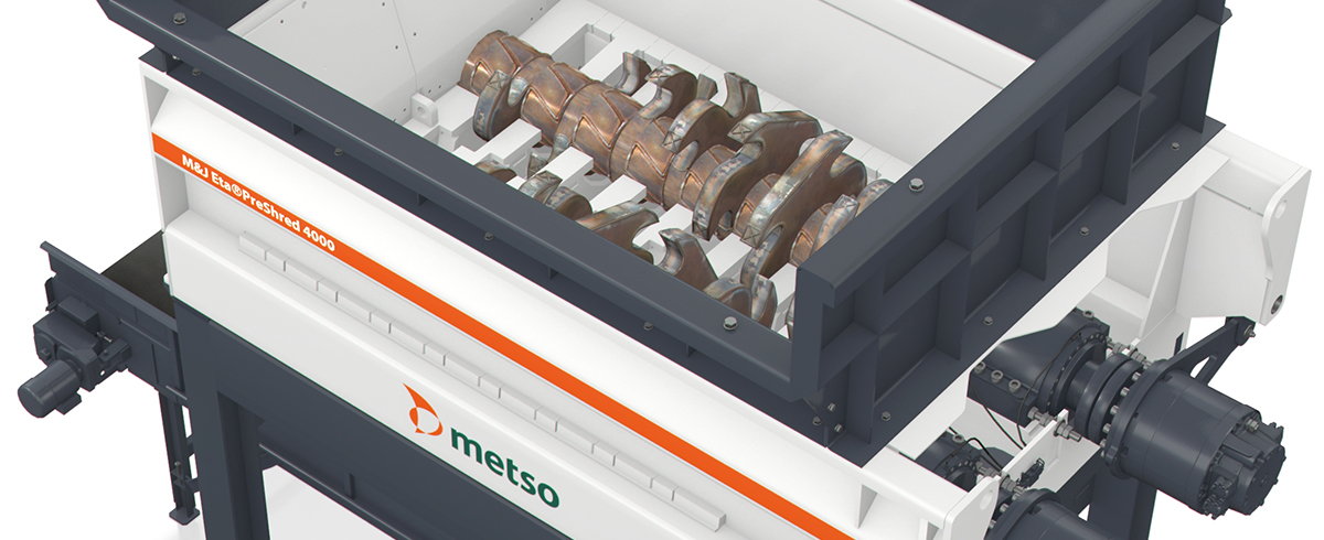 Metso receives Orders for seven Waste Shredders in China