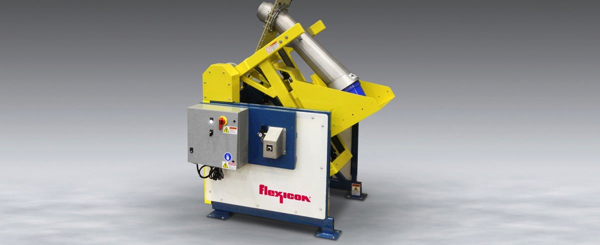Flexicon: Pail Dumper for Dense Bulk Materials