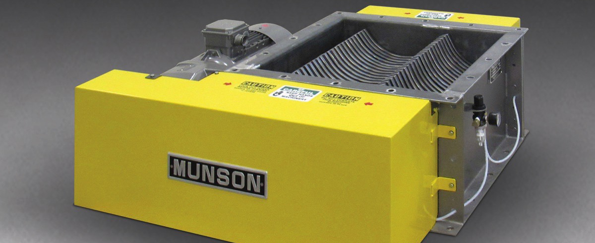 Munson Machinery: Abrasion-Resistant Lump Breaker