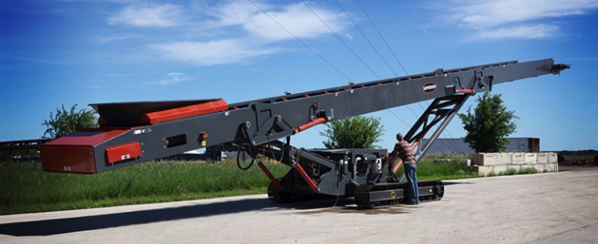 Superior Industries introduced two new track-mounted Conveying Solutions