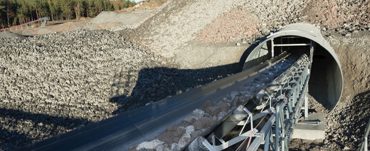 ContiTech: Continental Conveyor Belts working flat out on Mega-Tunnel Project in Stockholm