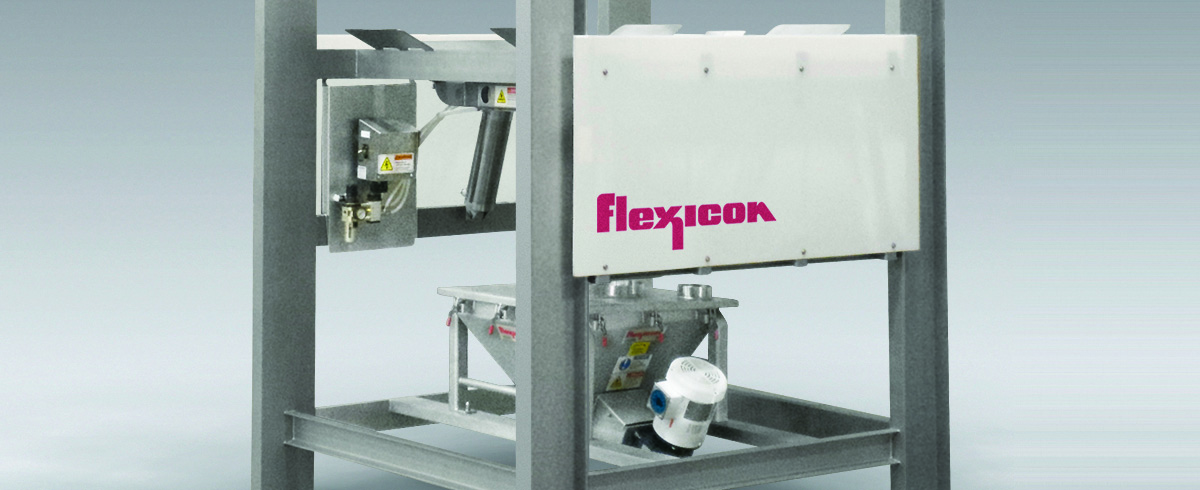 Flexicon: Sanitary Bulk Bag Discharger with open Channel Construction