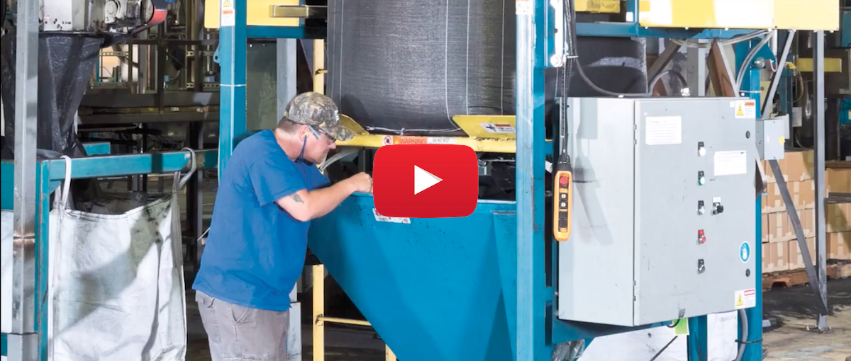 Flexicon: Bulk Bag Discharger Systems Handle Recycled Rubber Particles