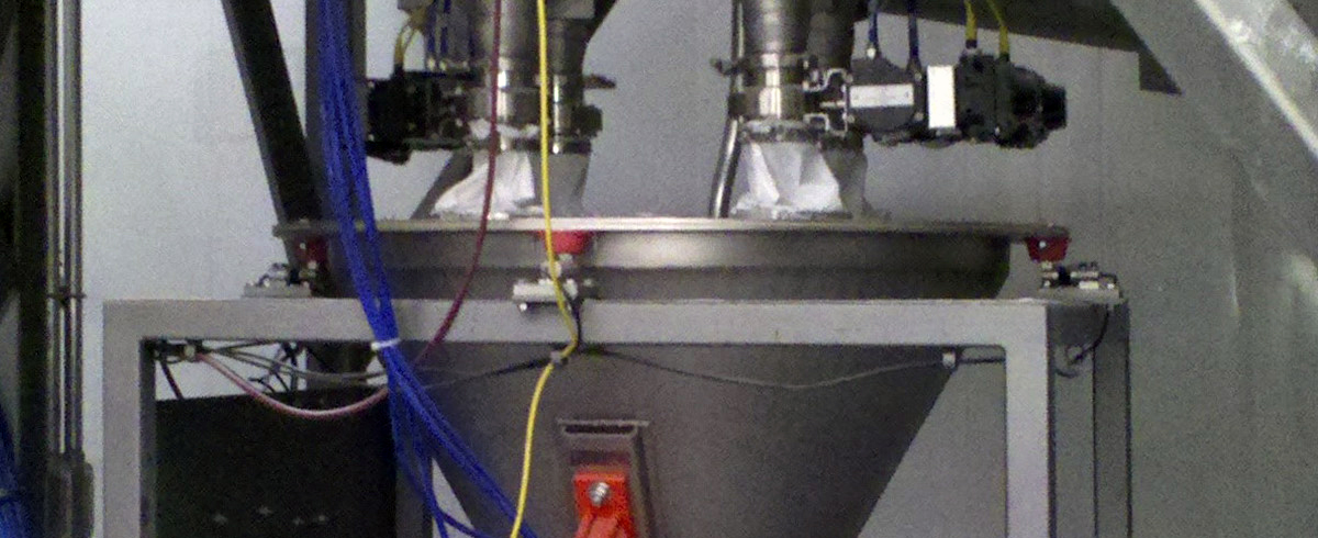 Sterling Systems: Ingredient Batching Systems provided with Dust Collection and Pneumatic Conveying