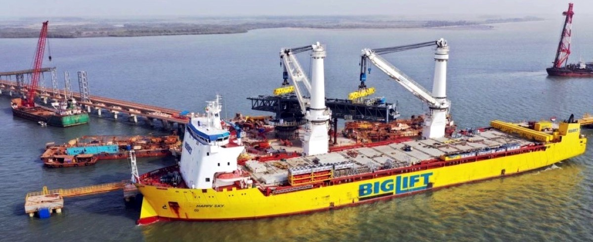 EGA's Guinea Mining Project receives massive thyssenkrupp Barge Loader