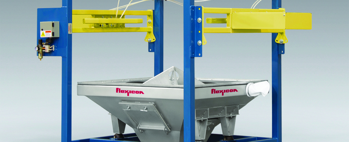 Flexicon: Discharger pierces single-use Bulk Bags, cuts Cycle Times