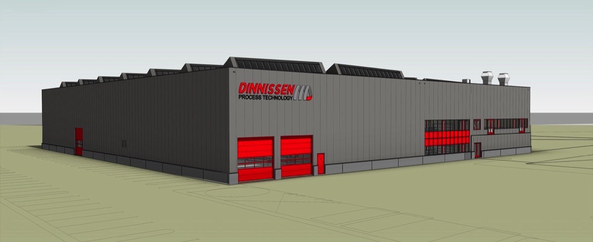 Dinnissen expands with new Building Complex in Sevenum, the Netherlands