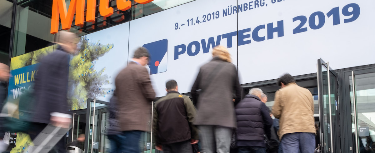 POWTECH and PARTEC 2019: Powerful Process Engineering Duo in Nuremberg