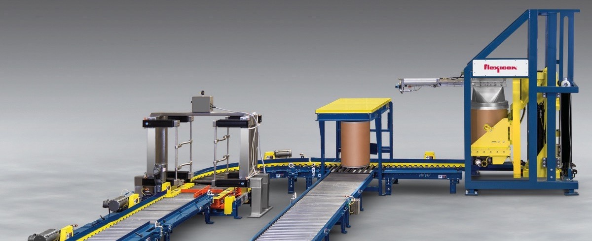 Flexicon: Fibreboard Drum Dumping Systems conditions Drums and discharges Material