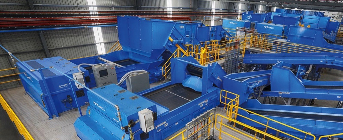 Transforming Waste to Value! Municipal Recovery Facility safes Resources and Dump Space