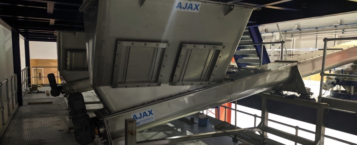 Ajax Equipment: Mobile Integrated Hopper and Screw Feeders for Pathway Intermediates